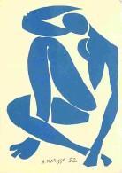 Art - Peinture - Henri Matisse - Nu Bleu IV - Voir Scans Recto-Verso - Paintings