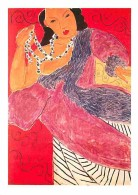 Art - Peinture - Henri Matisse - L'Asie - Asia - Voir Scans Recto-Verso - Paintings