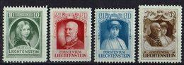 Liechtenstein 1929 // Mi. 90/93 * Falz (025..127) - Liechtenstein