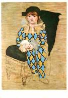 Art - Peinture - Pablo Picasso - Le Fils De L'artiste En Arlequin - Carte Neuve - Voir Scans Recto-Verso - Paintings
