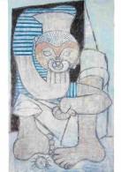 Art - Peinture - Pablo Picasso - Le Gobeur D'oursins - Voir Scans Recto-Verso - Paintings