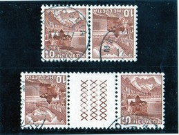 B - 1934 Svizzera - Paesaggi - Tete Beche
