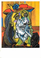 Art - Peinture - Pablo Picasso - Weeping Woman - Voir Scans Recto-Verso - Paintings