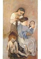 Art - Peinture - Pablo Picasso - La Coiffure - Carte Neuve - Voir Scans Recto-Verso - Paintings