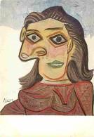 Art - Peinture - Pablo Picasso - Tête De Femme - Voir Scans Recto-Verso - Paintings