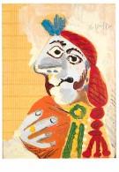 Art - Peinture - Pablo Picasso - Torero - Voir Scans Recto-Verso - Paintings