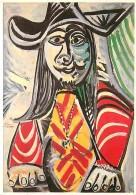Art - Peinture - Pablo Picasso - Homme Au Médaillon - Voir Scans Recto-Verso - Paintings