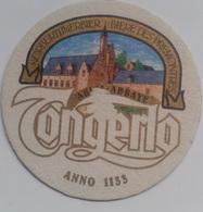Posavasos Cerveza Tongerlo. Abadía De Norbertijnen. Bélgica. Años '90 - Portavasos