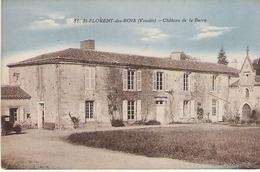 ST FLORENT DES BOIS Château De La Barre 1935 - Saint Florent Des Bois