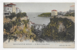 MONACO - N° 512 - LE RAVIN DE SAINTE DEVOTE - CPA NON VOYAGEE - Mónaco