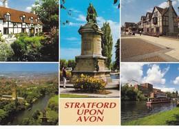 Postcard Stratford Upon Avon Multiview [ John Hinde ] My Ref  B22716 - Stratford Upon Avon