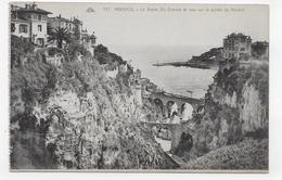 MONACO - N° 127 - LE RAVIN DE STE DEVOTE ET VUE SUR LA POINTE DU ROCHER - CPA NON VOYAGEE - Mónaco