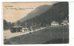 CPA-88-RETOURNEMER-DEPART DU TRAIN ELECTRIQUE POUR LE HONNECK-ANIMEE VOYAGEURS- - France