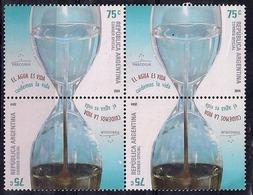 Argentina - 2004 - L'eau, Une Ressource Rare. - Argentinië