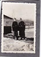 Foto 2 Deutsche Soldaten Im Winter - RAD Reichsarbeitsdienst - 2. WK - 8*5,5cm (35604) - Krieg, Militär