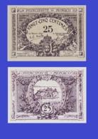 Monaco 25 Centimes 1921 - REPLICA --  REPRODUCTION - Monaco