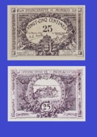 Monaco 25 Centimes 1921 - REPLICA --  REPRODUCTION - Mónaco