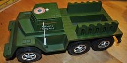 Rare Véhicule Armée Française Années 60-70 De La Marque Polistil - Toy Memorabilia