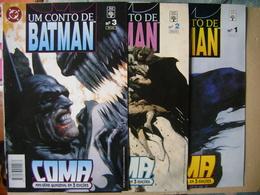BATMAN (BRAZIL) - QUINZENAL MINI-SERIES IN 3 EDITIONS, EDITORA APRIL JOVEM - Books, Magazines, Comics