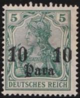 Deutsch  Turkei       .    Michel  .   36      .     *   .     Ungebraucht Mit Falz   .   /   .   Mint-hinged - Deutsche Post In Der Türkei