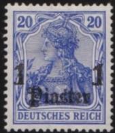 Deutsch  Turkei       .    Michel  .   38      .     *   .     Ungebraucht Mit Falz   .   /   .   Mint-hinged - Deutsche Post In Der Türkei