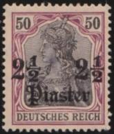 Deutsch  Turkei       .    Michel  .    42      .     *   .     Ungebraucht Mit Falz   .   /   .   Mint-hinged - Deutsche Post In Der Türkei