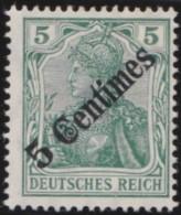 Deutsch  Turkei       .    Michel  .    48    .     *   .     Ungebraucht Mit Falz   .   /   .   Mint-hinged - Deutsche Post In Der Türkei