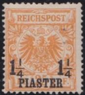 Deutsch  Turkei       .    Michel  .   9     .     *   .     Ungebraucht Mit Falz   .   /   .   Mint-hinged - Deutsche Post In Der Türkei