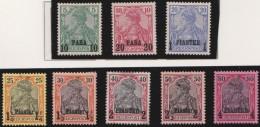Deutsch  Turkei       .    Michel  .   12 I/ 19 I  .     *   .     Ungebraucht Mit Falz   .   /   .   Mint-hinged - Deutsche Post In Der Türkei