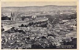 PRAGUE. HRADCANY ET LE QUARTIER DE MALA STRANA. TRADE JKO CARD. CIRCA 1950's CZECH REPUBLIC- BLEUP - Tsjechië