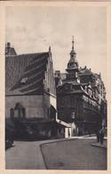 PRAGUE. THE OLD NEW SYNAGOGUE. FOTO POSSELT. CIRCA 1950's CZECH REPUBLIC- BLEUP - Tsjechië