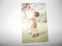 CPA  Enfant Dans Prairie Edition August Rökl Vienne N° 1419 Top Carte - Fialkowska, Wally