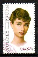 USA. N°3476 Oblitéré De 2003. Audrey Hepburn. - Cinema