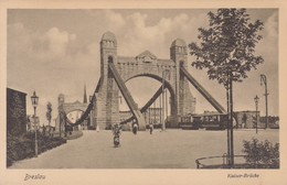 BRESLAU. KAISERR-BRUCKE. TRINKS & CO. CIRCA 1900's. POLAND- BLEUP - Polen