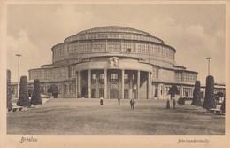 BRESLAU. JAHUNDERTHALLE. TRINKS & CO. CIRCA 1900's. POLAND- BLEUP - Polen