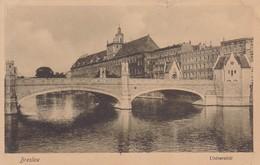 BRESLAU. UNIVERSITAT.  TRINKS & CO. CIRCA 1900's. POLAND- BLEUP - Polen