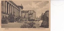 BRESLAU. MUSEUM MIT DEKNMAL KAISER FRIEDRICH III. TRINKS & CO. CIRCA 1900's. POLAND- BLEUP - Polen