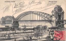 DÜSSELDORF - Rheinbrücke - Duesseldorf
