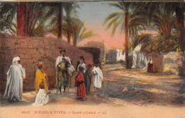 Scènes & Types - Dans L'Oasis - Algérie