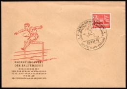 BER  SC #9N102 1953 Olympic Stadium, Berlin FDC 08-29-1953 - [5] Berlin