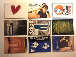 Lotto Cartoline - Pubblicitaria - Chitarra Guitar Moda Cappello Hat - Cartoline