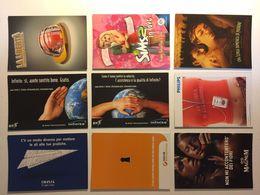 Lotto Cartoline - Pubblicitaria - Lavoro Inail Magnum Gelato Ice Cream Philips - Cartoline