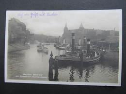 AK BERLIN V. Mühlendamm Schiff  Ca.1930  //  D*33277 - Deutschland