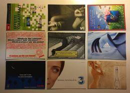 Lotto Cartoline - Pubblicitaria - Ragazza Girl Adidas Parfum Profumo 3 - Cartoline