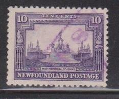 NEWFOUNDLAND Scott # 169 Used - National War Memorial - Newfoundland
