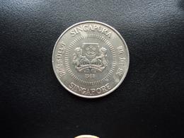 SINGAPOUR : 50 CENTS  1988     KM 53.1       SUP - Singapur