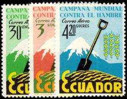Ecuador 1963 Freedom From Hunger Unmounted Mint. - Ecuador