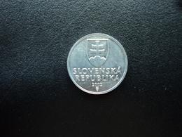 SLOVAQUIE : 10 HALIEROV   2002    KM 17     SUP - Slovaquie