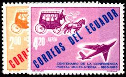 Ecuador 1963 Paris Conference Unmounted Mint. - Ecuador