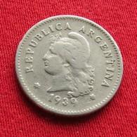 Argentina 10 Centavos 1939 KM# 35  Argentine - Argentine